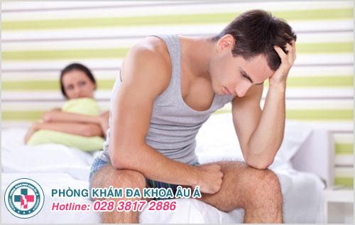 Nhận biết dấu hiệu yếu sinh lý ở nam giới