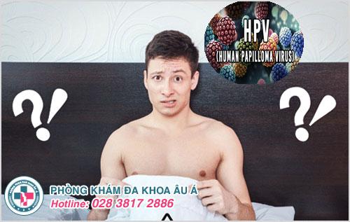 Nhiễm HPV ở nam giới, làm sao nhận biết được?