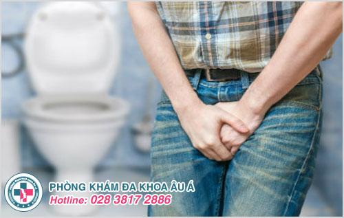 Viêm tuyến tiền liệt gây ảnh hưởng đến quá trình tiểu tiện ở nam giới