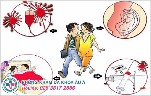 Những con đường phổ biến hình thành nên bệnh mụn rộp sinh dục