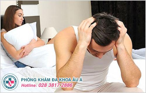 Nguyên nhân gây yếu sinh lý ở nam giới do tâm lý luôn căng thẳng