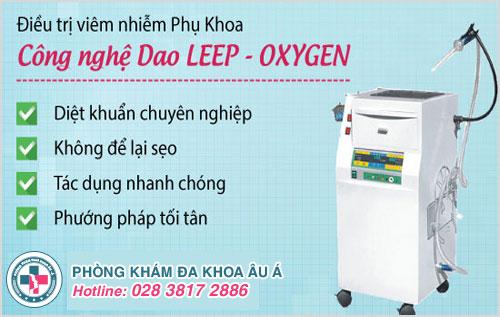 Chữa bệnh kinh nguyệt ra nhiều hiệu quả vượt trội nhờ công nghệ Dao Leep - Oxygen