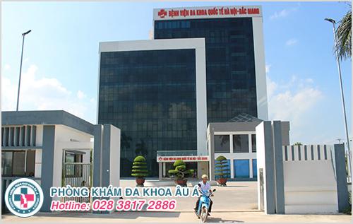 Chi phí khám nam khoa tại phòng khám nam khoa Bắc Giang