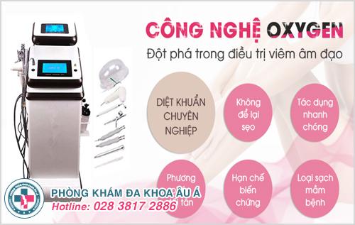Phương pháp Oxygen trong điều trị viêm nhiễm