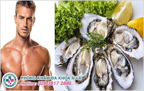 Nam giới muốn nâng cao chất lượng tình dục thì nên ăn hàu biển