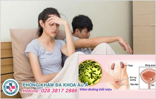 Quan hệ tình dục không an toàn dễ bị viêm đường tiết niệu