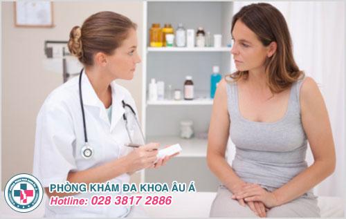 Thăm khám là cách giúp phát hiện và điều trị nhanh hiệu quả