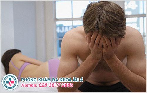 Tại sao nam giới khi xuất tinh thấy đau buốt ?