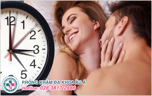 Thời gian quan hệ tình dục bao lâu là bình thường?