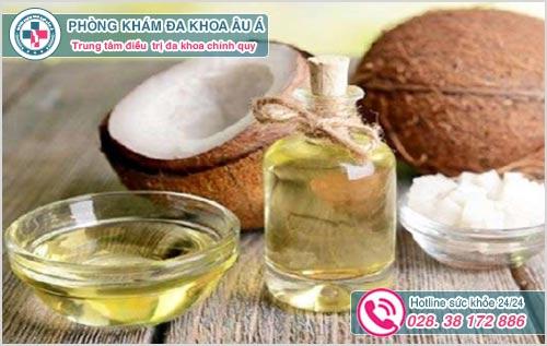 Trị viêm nang lông bằng dầu dừa có hiệu quả không?