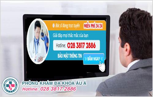 Trung tâm tư vấn sức khỏe nam giới online miễn phí