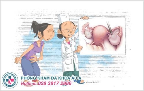 U nang buồng trứng dạng nước: Nguyên nhân dấu hiệu cách trị