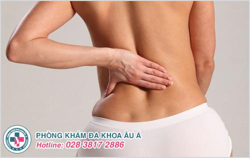 Viêm phụ khoa có bị đau lưng không? Có đau bụng không?