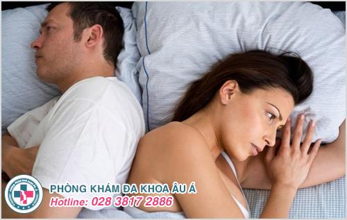 Viêm phụ khoa gây ra những tổn thương tại cơ quan sinh dục làm giảm chất lượng đời sống tình dục